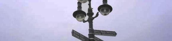 Fingerpost Signs by Wards of Bristol for Harry Patch Memorial