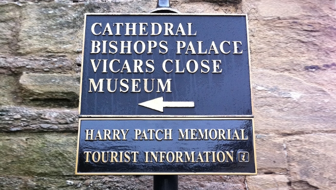 Cast Aluminium Signage for Memorial Monument (New Lower Panel)