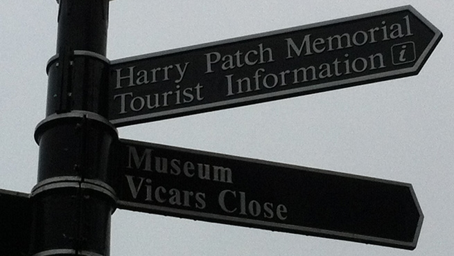 Fingerpost Signage by Wards of Bristol (New Panel upper right)