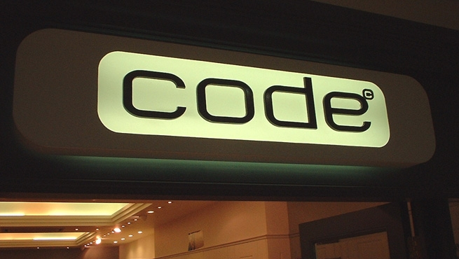 Illuminated Box Signage - Code