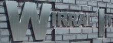 Wirral Business Park - Built Up Stainless Steel Letters - Satin Finish