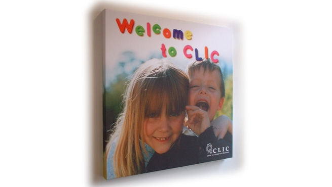 Welcome to CLIC  - Digital Print on Frame