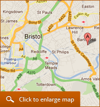 Wards of Bristol - Find us on the map