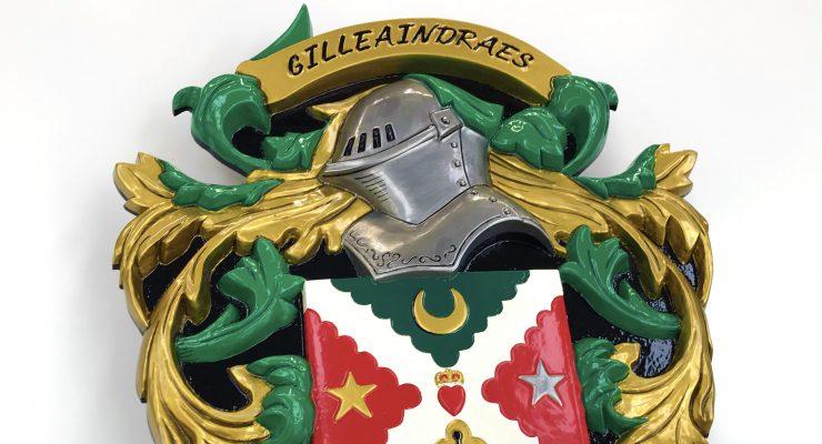 Gilleaindraes Cast Aluminium Crest