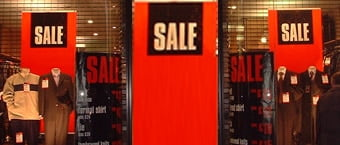 Retail Banners for Clothing Store (Bristol)
