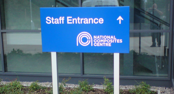 External Signage was also provided through the site by Wards of Bristol