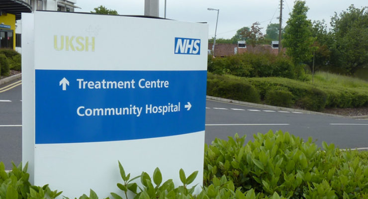 UKSH Treatment Centre - Monolith Sign