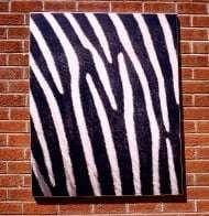 Zebra Pattern Digital Print Signage