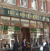 EDE & Ravenscroft signage
