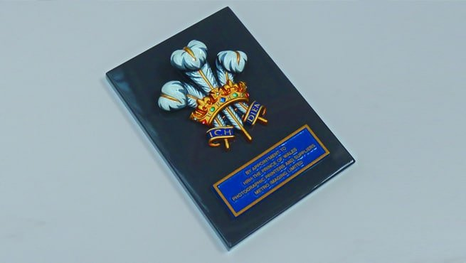 Prince of Wales Royal Warrant Coat of Arms, Cast in Solid Aluminium