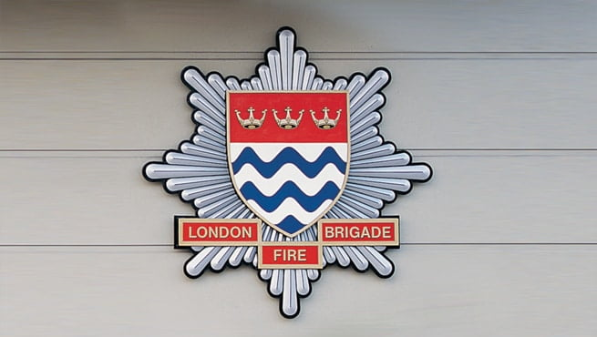 London Fire Brigade - Shield / Coat of Arms