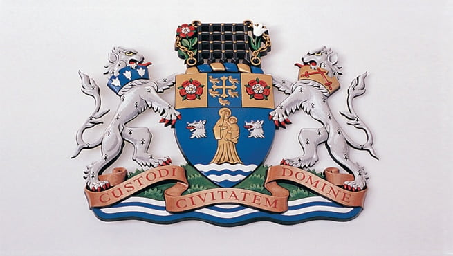 Metropolitan Borough of Westminster Coat of Arms - Custodi Civitatem Domine