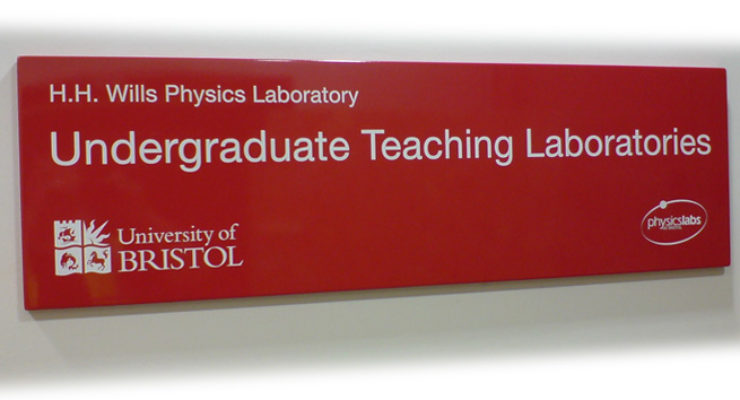 University of Bristol - Undergraduate Teaching Laboratories, Screen Printed Tray