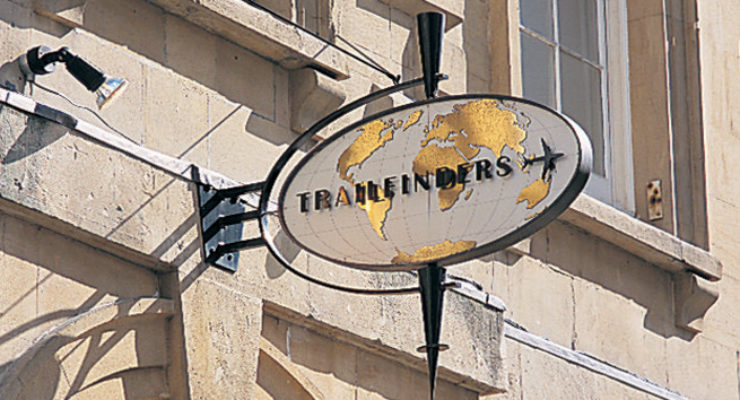 Trailfinders Projecting Sign Sculpture, Bristol
