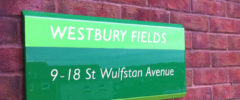 Wall Mounted Signs (External)