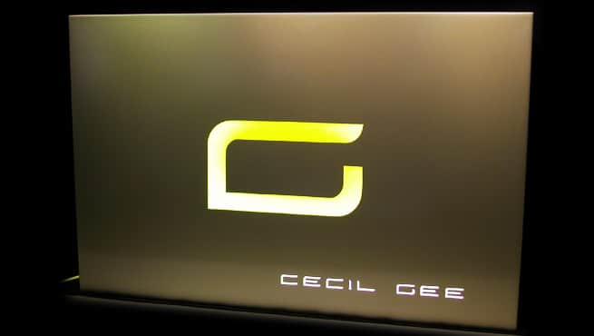 Illuminated Box Sign - Cecil Gee