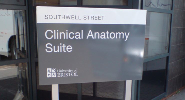 Southwell Street, Bristol - University of Bristol Clinical Anatomy Suite