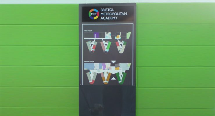 Bristol Metropolitan Academy - Map Panel