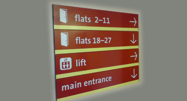 Bristol City Council, Directional Directory of Signage