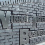 Wirral International Business Park - Built Up Stainless Steel Letters