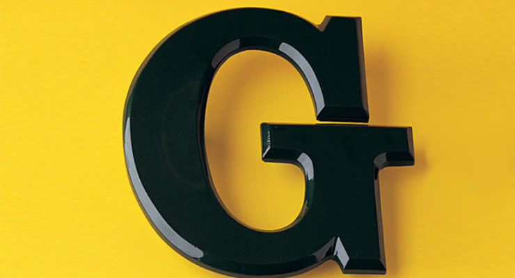 Resin Flat Face Signage Lettering,