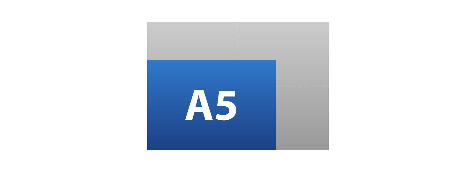 A5 (210mm x 148mm)