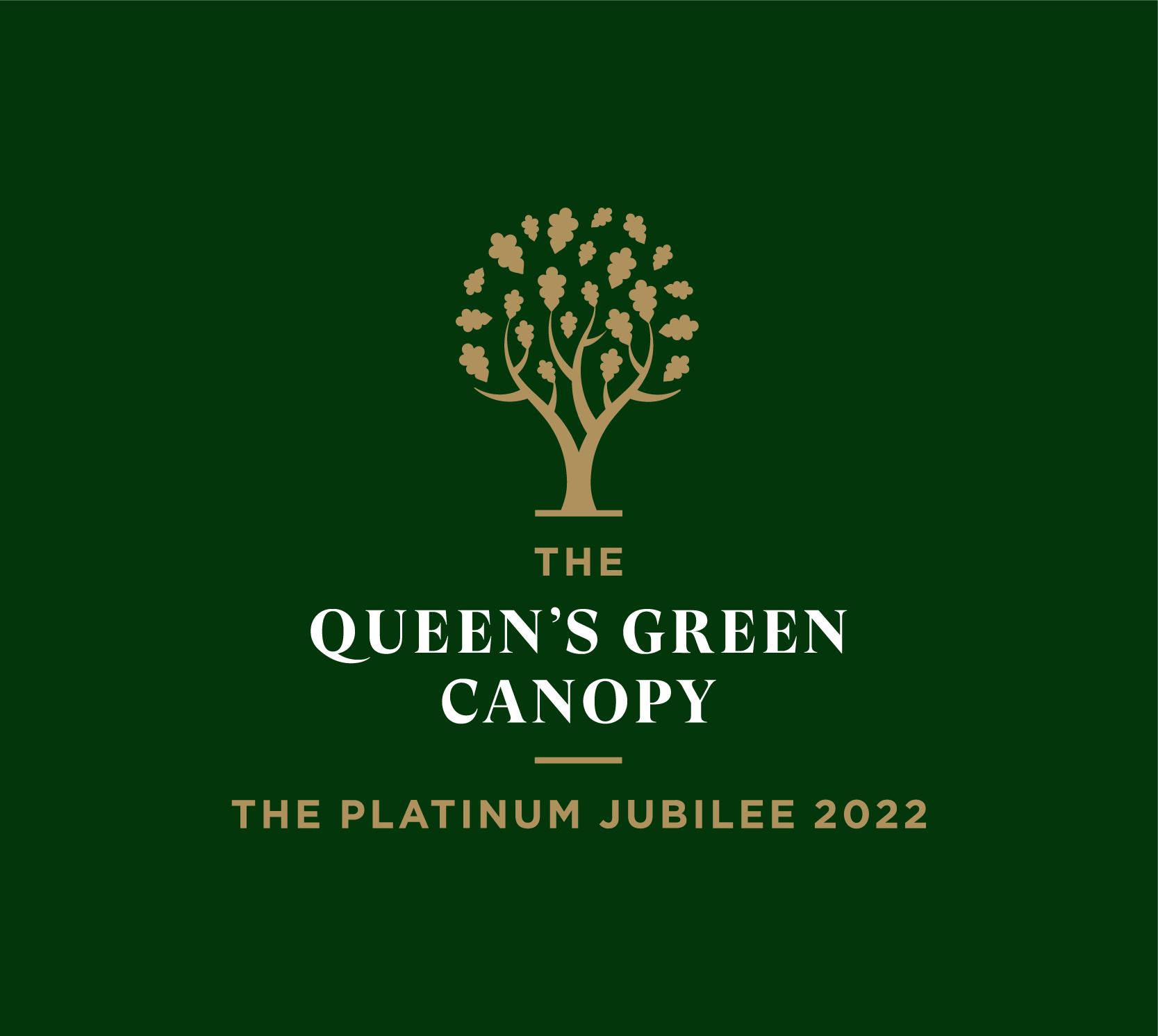 Queens Green Canopy Logo Green