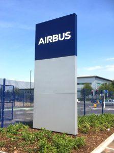 Monolith Airbus Sign