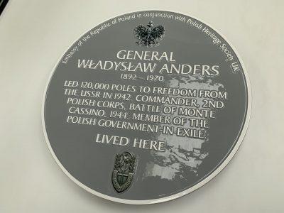 Polish Heritage Society Historic Plaque