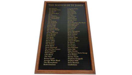 Wooden Panel Sign - Aluminium Pane - Oak Beading