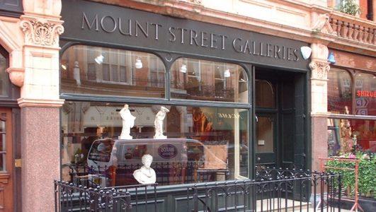 Cast Bronze Letters on Shop Fascia - Mount Street Printers