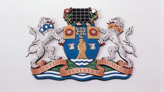 Metropolitan Borough of Westminster Coat of Arms - Custodi Civitatem Domine