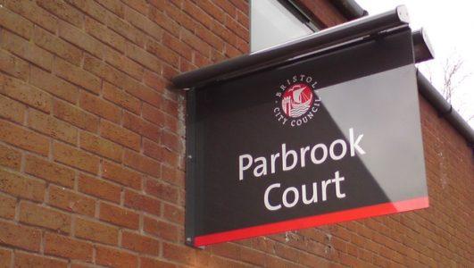 Bristol City Council - Parbrook Court Illuminated Projecting Sign
