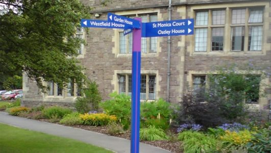 Fingerposts made for St Monica's Trust - Cote Lane, Redland, Bristol and Other Projects