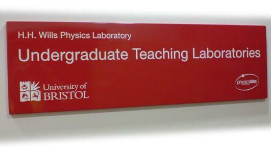 University of Bristol - Undergraduate Teaching Laboratories, Screen Printed Tray