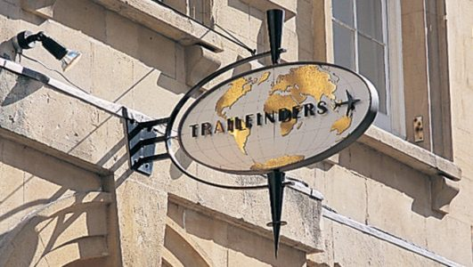Trailfinders Projecting Sign Sculpture, Bristol