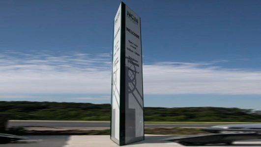 National Coal Mining Museum, Monumental Triangular Monolith