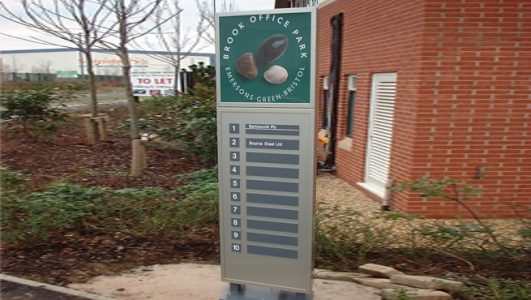 Monolith Directory Sign, Brook Office Park, Emersons Green, Bristol