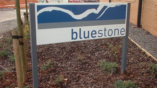 Bluestone Post Mounted Tray Panel
