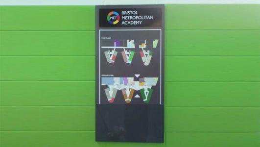 Bristol Metropolitan Academy - Map Panel