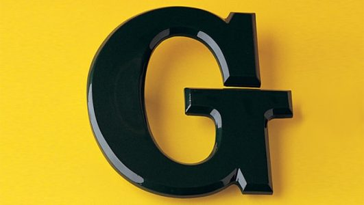 Resin Flat Face Signage Lettering