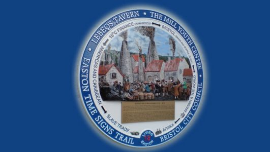 Lebeqs Tavern, Bristol - The Mill Youth Centre, Bristol City Council, Easton Signs Trail