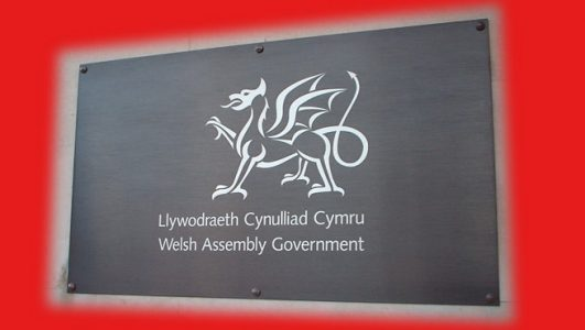Bronze Plate with Engraved Welsh Dragon Logo